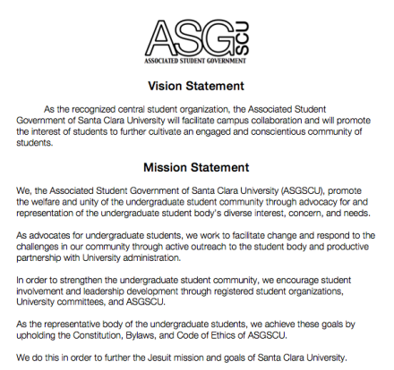 ASG Mission and Vision